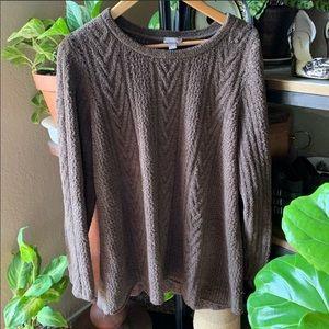 J.jill fuzzy sweater. Chunky